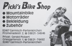 pickis bike shop 1992